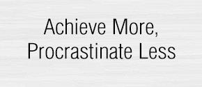 End Procrastination Pro