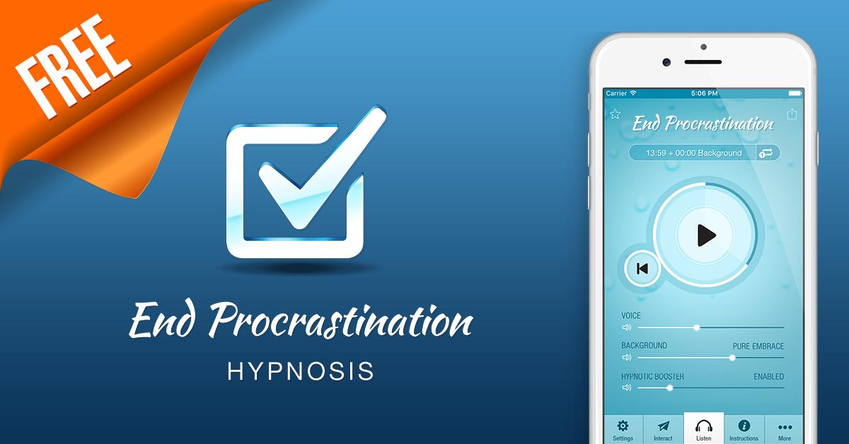 End Procrastination Hypnosis | Surf City Apps