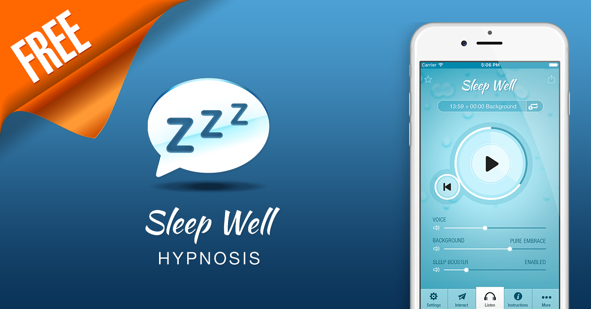 Sleep Well Hypnosis | Surf City Apps